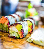 Rolling out desi sushi