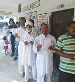 Voting for Shahkot Assembly bypoll in Punjab under way
