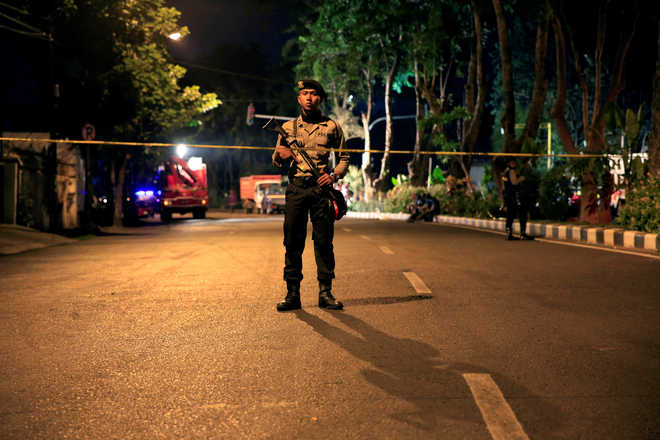 Indonesia passes tougher terror law after suicide attacks  Indonesia passes tougher terror law after suicide attacks 2018 5 largeimg25 Friday 2018 115115387