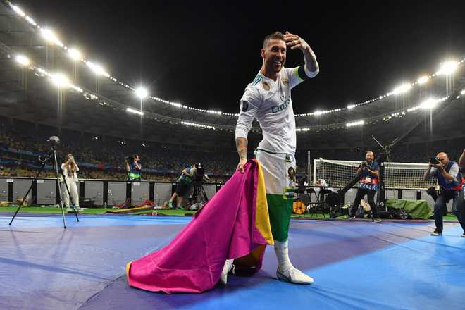 Serial winner Ramos leaves mark on yet another Champions League final Serial winner Ramos leaves mark on yet another Champions League final Serial winner Ramos leaves mark on yet another Champions League final 2018 5 largeimg27 Sunday 2018 215109120