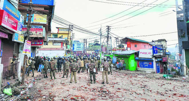 Fight for right at Shillong's lane of squalor
