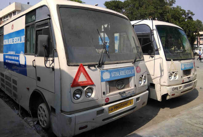 Health services through vans fall short of expectations