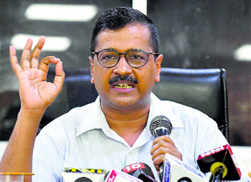 Kejriwal accuses PMO, Shah of impeding work