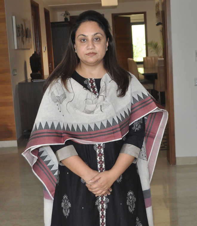 Sandhya first woman to lead civic body House Opposition