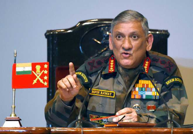 Army Chief: Too early to talk of further truce