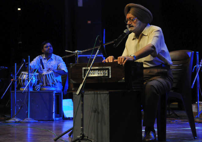 Musical delight at Tagore Theatre