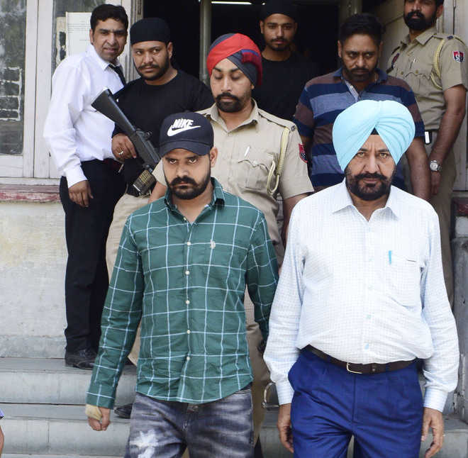 Gangster in five-day police custody