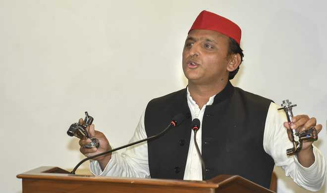 Bungalow row a BJP conspiracy: Akhilesh