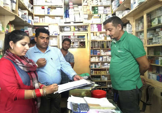 Medical stores inspected,  6 found violating norms