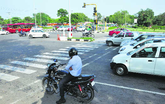 Light & shade? It's also about rules at traffic lights