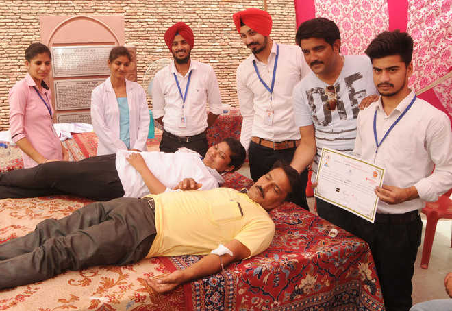 Over 400 donate blood at nine camps