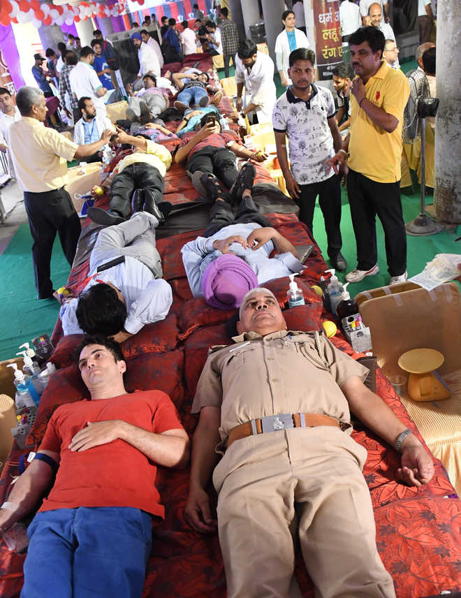 Badnore inaugurates blood donation camps