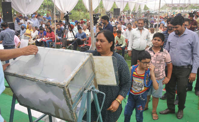 In draw of lots, 753 allotted plots at IT City in Mohali