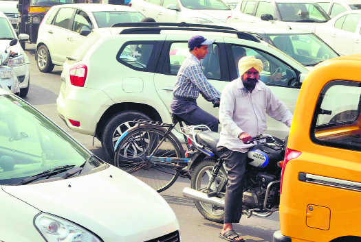 Increasing vehicles on city roads a cause of concern