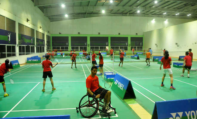 6 new badminton courts at Sector 43 Sports Complex