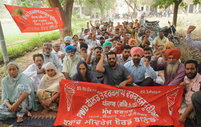 Not paid for months, PWD workers stage protest
