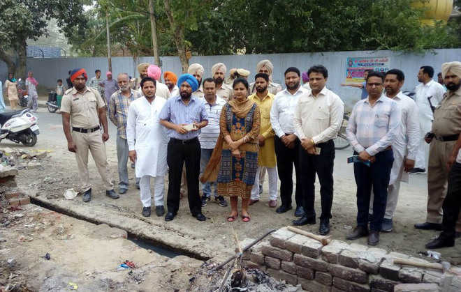 Work on converting 5 places into parks begins in Bhikhi