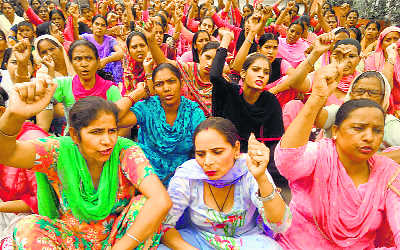 ASHA workers want services regularised