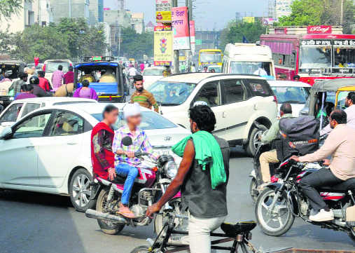 Traffic police go soft on underage driving in city