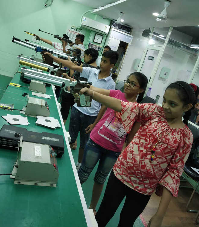 Free rifle and pistol shooting camp ends