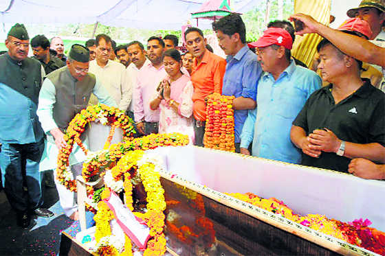 CM pays tribute to martyr Gurung