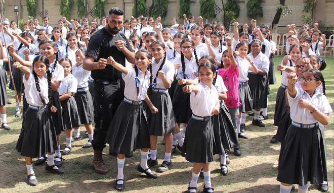 Self-defence: City girls learn to fight back in karate classes