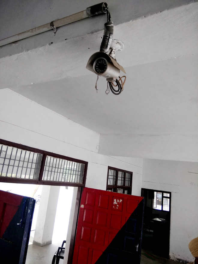 CCTV cameras at police stations lying defunct