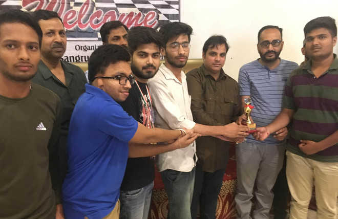 City lads bag third spot in chess tourney