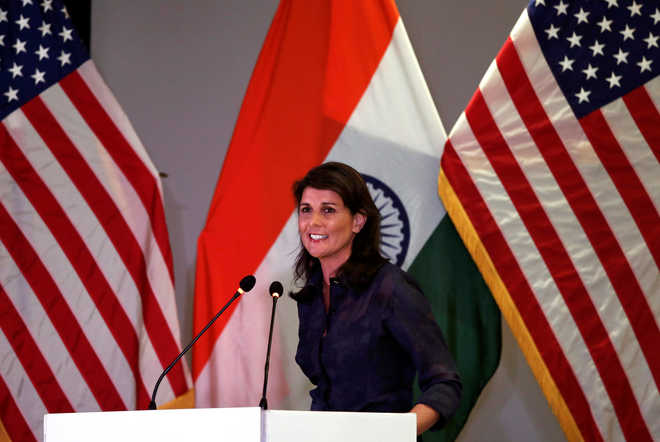 Cannot tolerate Pakistan becoming haven for terror groups: Haley