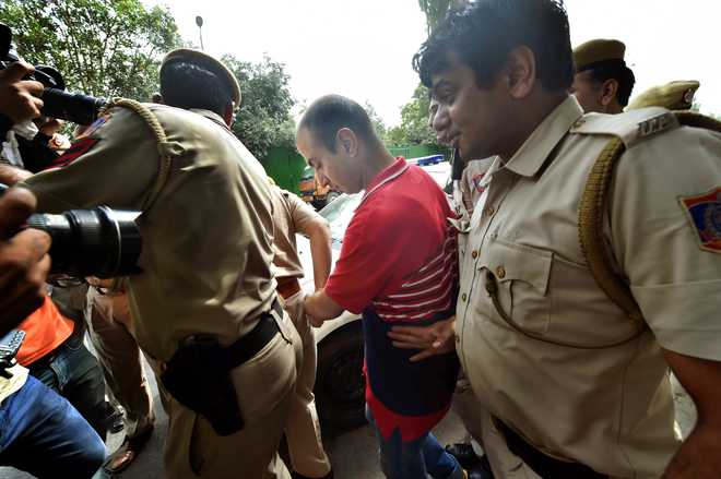 Major arrested in murder case sent to 14-day judicial custody