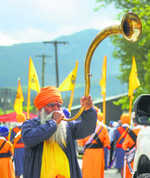 A 'Golden' nagar kirtan in Canada