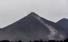 Picture of the Fuego Volcano taken from San Miguel Los Lotes, a village in Escuintla Department, about 35 km southwest of Guatemala City, on June 4, 2018, a day after an eruption. At least 25 people were killed, according to the National Coordinator for Disaster Reduction (Conred), when Guatemalas Fuego volcano erupted Sunday, belching ash and rock and forcing the airport to close. AFP photo