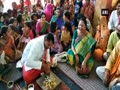 MP minister, locals organise frog wedding to appease rain gods