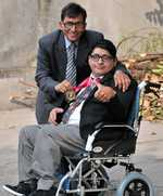 Dad plays sheet anchor as son overcomes disability