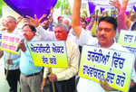 Protest held against quota in promotions