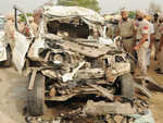 SUV rams into parked truck, seven killed