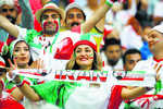 Barrier broken, women allowed in Iran stadiums