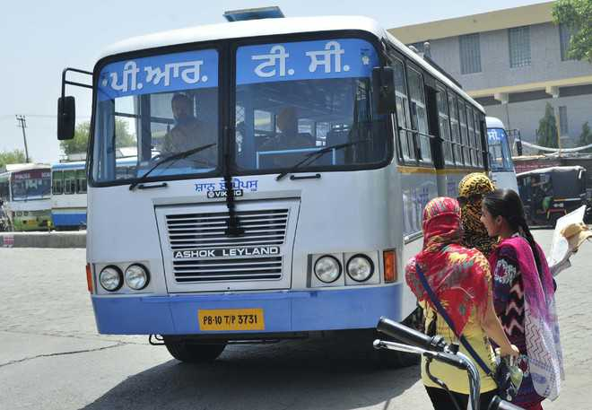 Bus p: Students irked over delay Application Form Bus P Punjab Roadways on