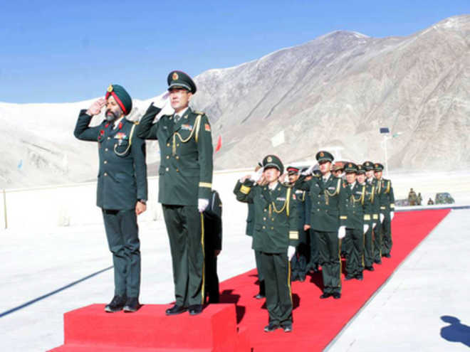 India, China border personnel meet in Chushul sector