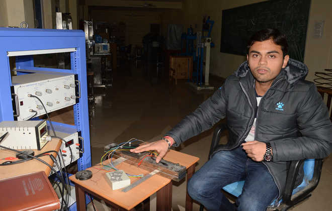 Mandi IITian bags Young Scientist Award