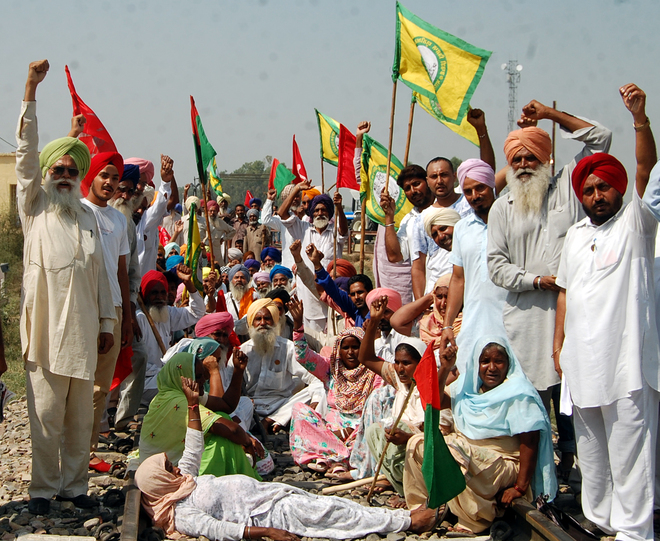 Punjab farmers extend stir by two days; 41 trains cancelled