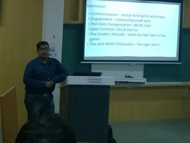 Interactive session at IIM
