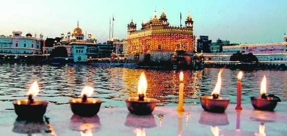 Image result for diwali golden temple
