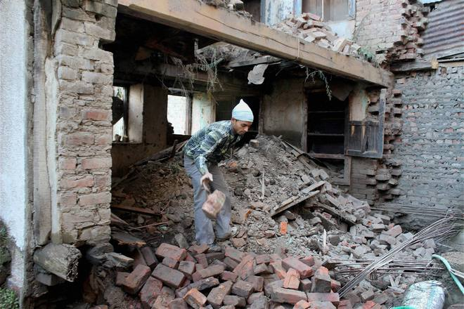 Valley survives high-intensity quake with minor infra loss