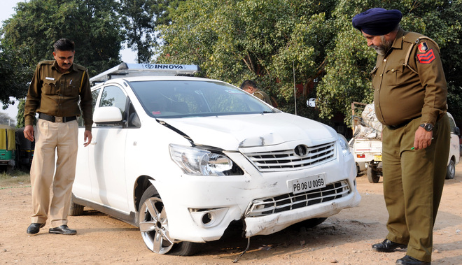 SUV drags DJ to death at Airport light point