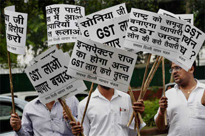 Congress terms on GST