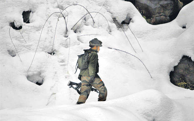 Break the ice & reach out to soldiers, forcefully