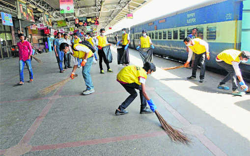 First clean up the caste and sanitation equation