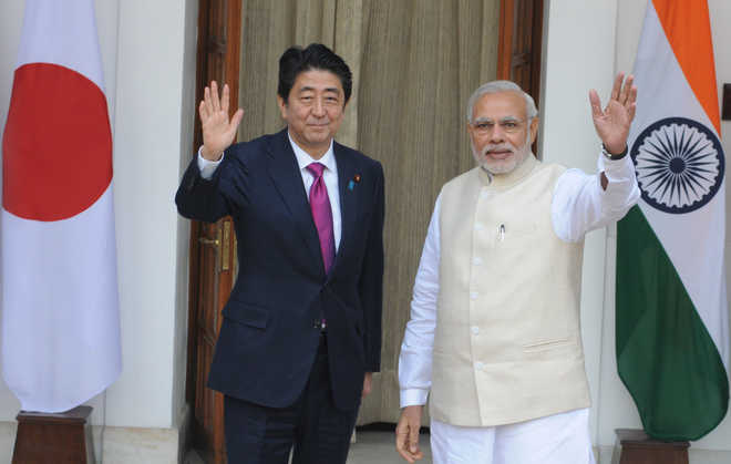 Not just bullet train, India wants high-speed growth: PM Modi