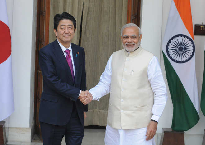 India, Japan ink pacts on bullet train, defence, nuke energy